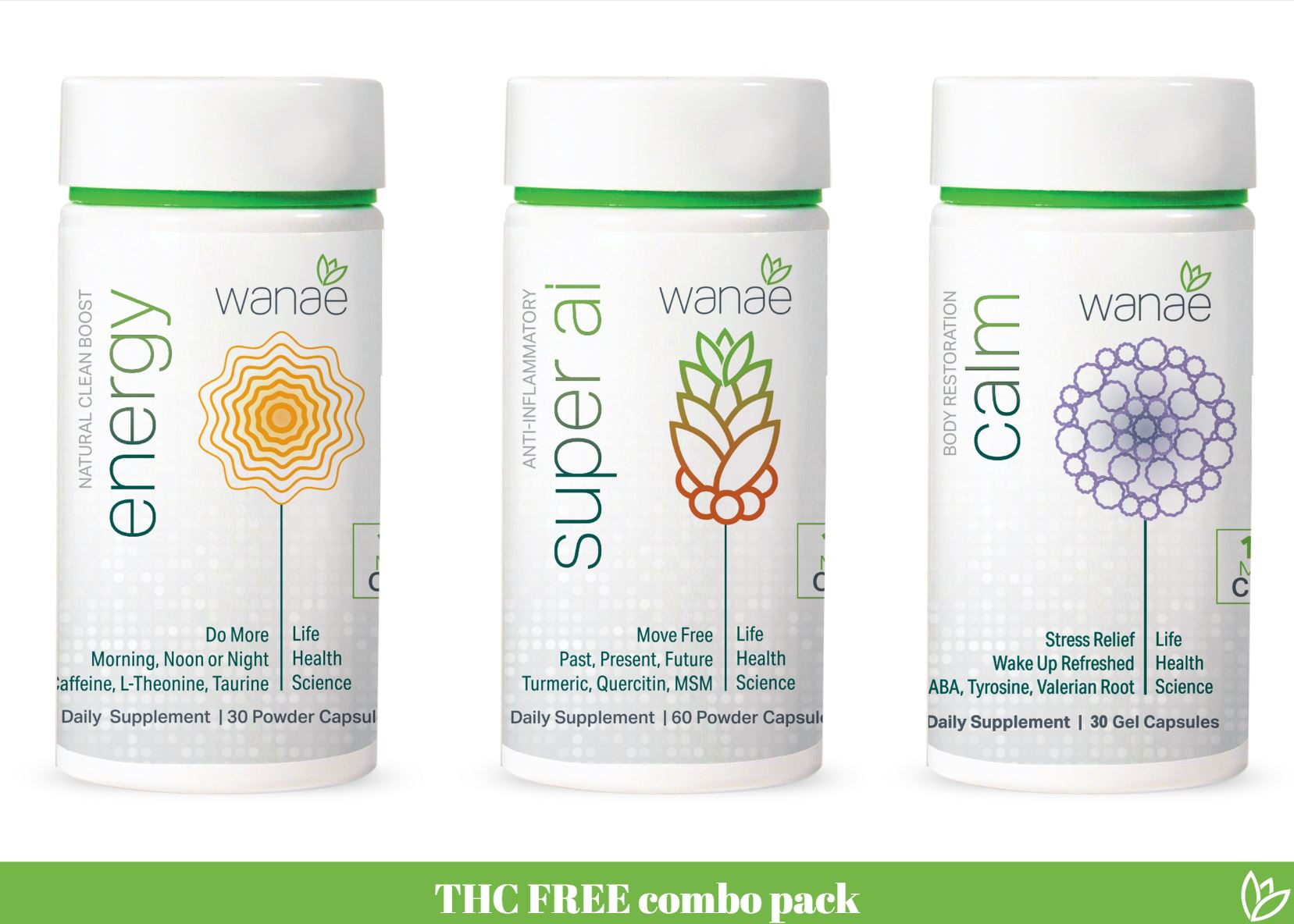 THC Free Combo Pack